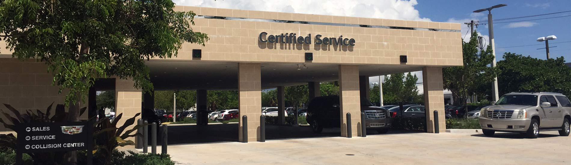 Auto Repair Car Service Coupons Ed Morse Cadillac Delray Service